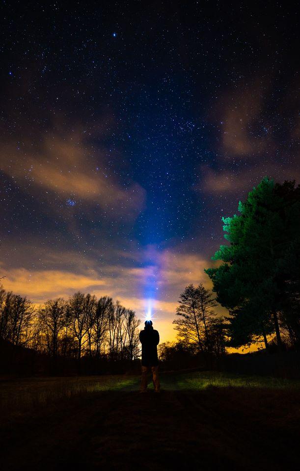 fotografování hvězd